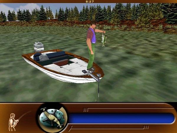 симулятор спиннинговой рыбалки