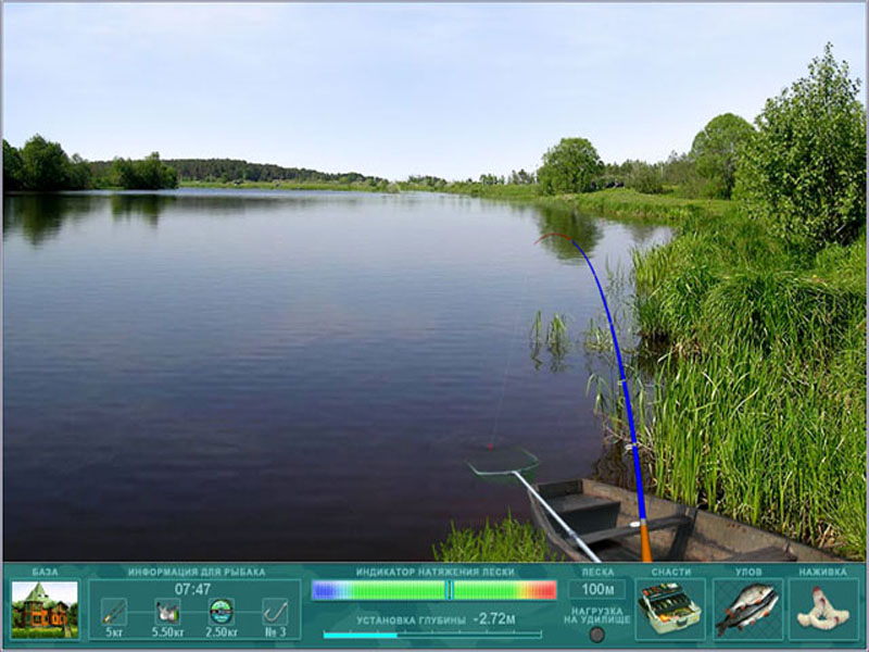 флеш симулятор рыбалка рыбалки